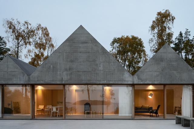Summerhouse Lagnö by Tham & Videgård Arkitekter // Sweden.