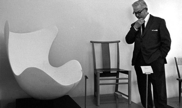 Arne-Jacobsen-Egg-chair-prototype