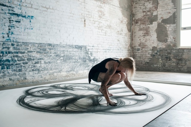 Emptied Gestures: Kinetic Drawings by Heather Hansen